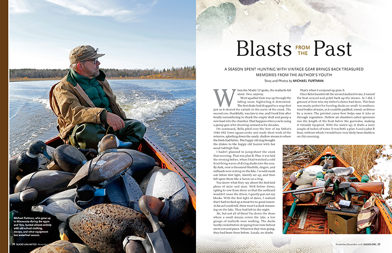 Blasts From The Past -- Ducks Unlimited article